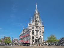 Town Hall in Gouda, Netherlands Stock Image