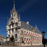 Gouda townhall stock images