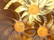 Gouden royalty-vrije illustratie