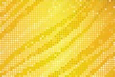 Gouden aantrekkingskrachtachtergrond Royalty-vrije Stock Foto