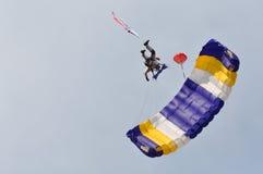 Gouden Aar 2011, Tsjechische parachutist, 2011 Royalty-vrije Stock Afbeelding