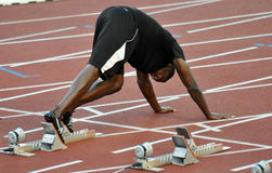 Gouden Aar 2011, Usain Bout, 2011 Royalty-vrije Stock Foto