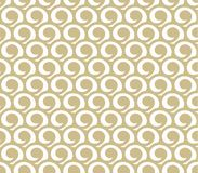 Gouden abstract patroon stock illustratie