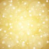 Gouden abstracte achtergrond Royalty-vrije Stock Foto