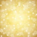 Gouden abstracte achtergrond Stock Foto