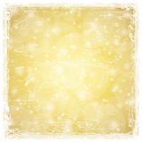 Gouden abstracte achtergrond Royalty-vrije Stock Afbeelding