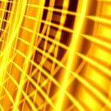 Gouden abstracte achtergrond Stock Afbeeldingen