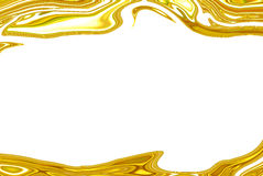 Gouden abstracte onscherp Royalty-vrije Stock Foto's