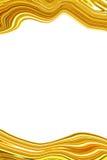 Gouden abstracte onscherp Royalty-vrije Stock Foto