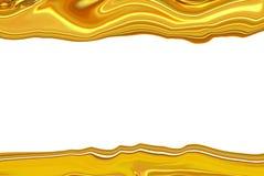 Gouden abstracte onscherp Royalty-vrije Stock Afbeeldingen