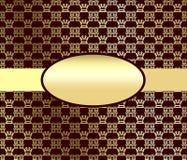 Gouden abstractie. Royalty-vrije Stock Foto's