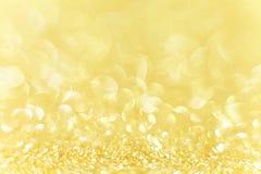 Gouden achtergrond Stock Fotografie