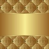 Gouden achtergrond Royalty-vrije Stock Fotografie