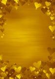 Gouden achtergrond Stock Afbeeldingen