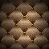 Gouden achtergrond - Chester patroon dat - verpakt royalty-vrije illustratie