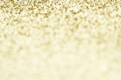Gouden Achtergrond met Exemplaarruimte Stock Afbeelding
