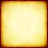 Gouden achtergrond met gebrande randen Royalty-vrije Stock Afbeeldingen