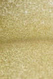 Gouden achtergrond met sterren Stock Foto's