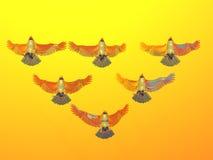 Gouden Adelaars vector illustratie