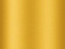 Gouden aluminiumtextuur Royalty-vrije Stock Afbeelding