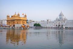 Gouden amritsar tempel Royalty-vrije Stock Afbeeldingen