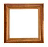 Gouden antiek frame Stock Afbeeldingen