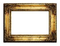 Gouden antiek frame Royalty-vrije Stock Foto's