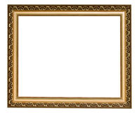 Gouden antiek frame Royalty-vrije Stock Foto