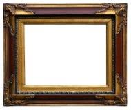Gouden Antiquiteit Gesneden Omlijsting royalty-vrije stock foto's