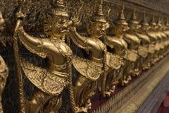 Gouden Apenmuur stock afbeelding
