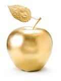 Gouden appel. Stock Foto's