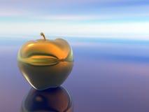 Gouden appel. Royalty-vrije Stock Afbeelding