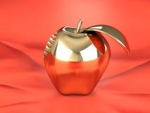 Gouden appel Stock Afbeeldingen