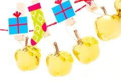 Gouden appelen Stock Afbeelding