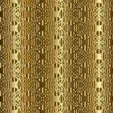 Gouden Arabisch traditioneel patroon naadloos Royalty-vrije Stock Foto