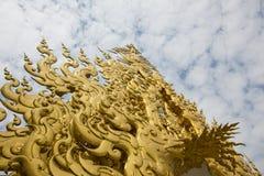 Gouden architectuur royalty-vrije stock foto