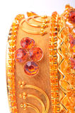 Gouden armband stock afbeelding