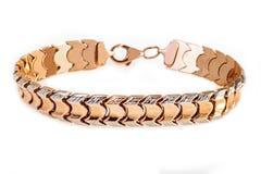 Gouden armband Stock Foto's