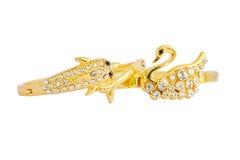 Gouden armband Stock Afbeeldingen