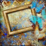 Gouden art. royalty-vrije illustratie