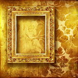 Gouden art. Royalty-vrije Stock Afbeelding