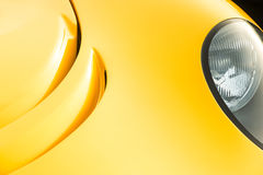 Gouden autopaneelsamenvatting Royalty-vrije Stock Fotografie