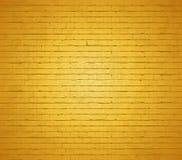 Gouden bakstenen muur. royalty-vrije illustratie
