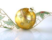 Gouden bal. Royalty-vrije Stock Afbeeldingen