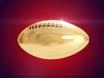 Gouden bal het 3d teruggeven Stock Foto