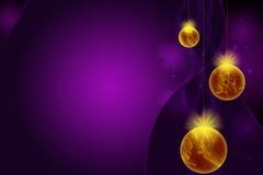 Gouden Ballen Royalty-vrije Stock Afbeeldingen