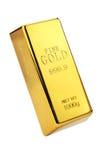 Gouden bar Royalty-vrije Stock Fotografie