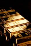 Gouden baren Stock Afbeeldingen