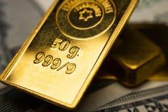 Gouden-baren Royalty-vrije Stock Foto's