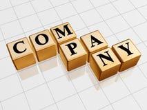 Gouden bedrijf Stock Fotografie